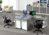 Zwei Sitzergonomischer professioneller nützlicher Büro-Computer-Arbeitsplatz (SZ-WST631)
