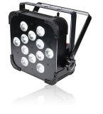 Indicatore luminoso piano senza fili di PARITÀ della batteria 5in1 RGBWA 12*15W LED di Uplights DMX di PARITÀ sottile del DJ di illuminazione della fase di professione