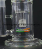 Heißer bunter Glasrecycler-Glaspfeifen mit Reifen-Filtrierapparat