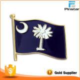 Оптовый изготовленный на заказ национальный флаг, значок прямых связей с розничной торговлей фабрики