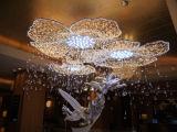 Decorazione chiara multicolore dell'hotel di natale di scintillio magico LED