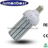 차가운 백색 3000k E40 60W LED 가로등 전구