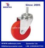 PU шарнирного соединения отверстия для болтов катит рицинус с полным тормозом