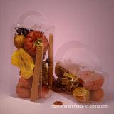 caja plástica transparente para el alimento (caja de los PP)