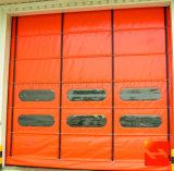 Изготовление двери складчатости PVC Industril высокоскоростное быстрое (HF-1038)