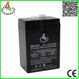 緊急時の照明のための6V 4.5ah AGM電池