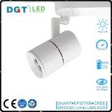 MAZORCA de aluminio 30W LED Tracklight de Dimmable de la luz del punto de la eficacia alta IP20