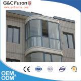 Fabrication en aluminium de Guangzhou de guichet de glissement de bonne qualité