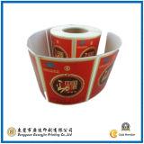 De Stickers van het Document van het Merk van goederen (gJ-Label008)