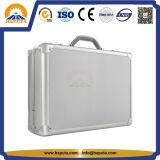 Het Geval van het aluminium met Van het Bedrijfs handvat Zilveren Handtassen (hl-3005)
