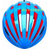 Le seul casque de vélo, ce a reconnu le casque de vélo, casque de recyclage bleu