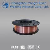 Fio de cobre 1.0mm do protetor do gás do CO2 de Aws A5.18 Er70s-3