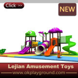 Campo da giuoco di plastica esterno divertente per la sosta dei bambini (X1504-5)
