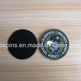 PVC Military Velcro Patches Label en caoutchouc 3D Embossed Soft pour Clothing