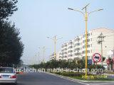 40W二重アーム道の照明のための太陽街灯