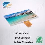 LCD van de Bekleding van het Scherm van de Aanraking van Ckingway Vertoning in de AutoMonitor van de Aanraking LCM van de Navigatie TFT