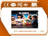 Cartelera publicitaria de alquiler a todo color de interior del vídeo de P6 LED