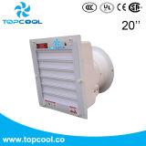 PVC 셔터 온실 20 인치 배기 엔진 섬유유리 벽 마운트