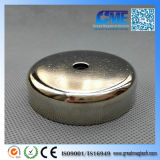 N42 Pot Dia 6 0 X15 mm M8 Countersunk NdFeB Permanent Magnet