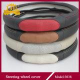 Echtes Leder-neuer Entwurfs-Lenkrad-Deckel