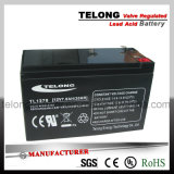 UPSのための12V 7ah Valve Regulated Rechargeable Lead Acid Battery