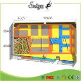 Trampoline grande padrão do competidor excelente do salto do preço ASTM da forma