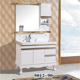 Mirrorの床Standing Wood Material Bathroom Vanity