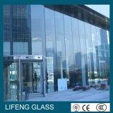 edifício reflexivo cinzento escuro matizado 6mm de vidro