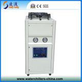 Refrigerador refrigerado por aire del agua del rollo 2ton para el sistema de enfriamiento de agua