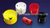 Bocado Drilling bimetálico de núcleo com mostra colorida da caixa seu tipo