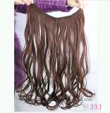 Clip dans le cheveu de trame de clip de cheveu desserré de trame d'onde de cheveu de mode de prolonge de cheveu