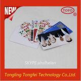 Scheda stampabile di identificazione del PVC del getto di inchiostro di plastica eccellente caldo di affari
