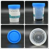 Снадобья чашки мочи испытания злоупотреблением быстро для множественного снадобья с прокладками температуры