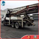 Caminhão concreto usado da bomba do cimento de Sany das boas condições (chassis de 37M /6 *4 Isuzu)