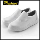 Diseño de los zapatos de seguridad del color para los zapatos de trabajo del hospital para los zapatos de seguridad del restaurante del trabajo y de la industria alimentaria