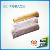 Material del filtro de aire de Nomex de la meta de Ecograce para la planta del cemento