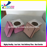 Foil di lusso Hot Stamping Lid e Base Candle Gift Box