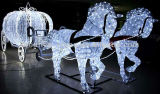 Напольные света мотива белки украшения СИД праздника рождества солнечные