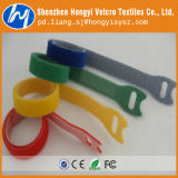Fertigung Customed Größen-selbstsichernder Haken-u. Schleifen-Flausch-Kabelbinder