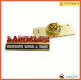 Цветы эмали значка Pin отворотом золота Gowlings трудные с печатание (JINJU16-032)