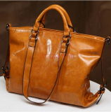 Form-Spielraum-Gepäck-echtes Leder-Stadtstreicherin Handtasche