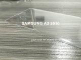 protetor curvado 3D da tela do vidro Tempered de tampa cheia da borda para Samsung A310 A3 2016