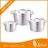 3 pedazos del Cookware de aluminio Jp-Al03 determinado