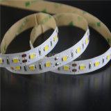 60/120LEDs/m indicatore luminoso di striscia dei 5730 LED 2 anni della garanzia LED di indicatore luminoso di striscia flessibile (LM5630-WN60-WW-12V)