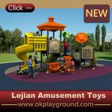 CE Wonderland plástico al aire libre Zona de juegos infantil