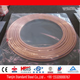 Alta qualidade para a bobina da panqueca da câmara de ar de cobre de Aircondition