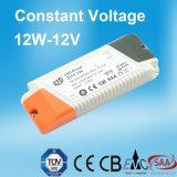 12W 12V Constante van het Hoofd voltage Bestuurder met Ce- Certificaat