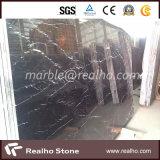 Buone lastre di marmo nere di Nero Marquina
