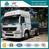 Caminhão do trator do caminhão do recipiente de Sinotruk HOWO 4X2