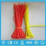 Auto-bloqueio 4 * 200mm Plastic Tie Zip Tie Tie Nylon